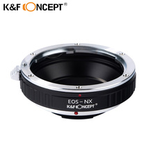 K&F CONCEPT Lens Adapter Ring for EOS EF-S Mount Lens Adapter Ring to for Samsung NX Mount Camera Body