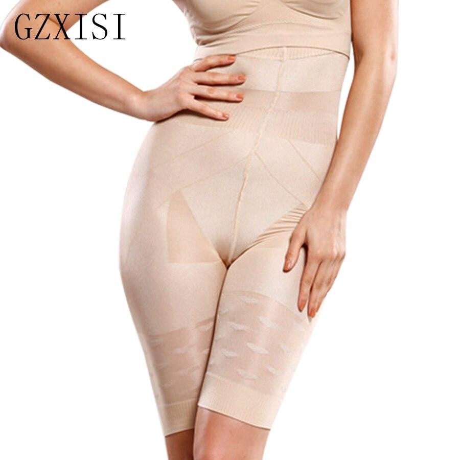 caa06805655 Plus Size High Waist Pants Women Slimming Underwear Shaper Control Panties  Body Shapers Butt Lifter With Tummy Control Shapewear