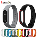 HOT!Lemado Multi-color wristband xiaomi double-color bracelet for original xiaomi band 2 replacement band protective band case