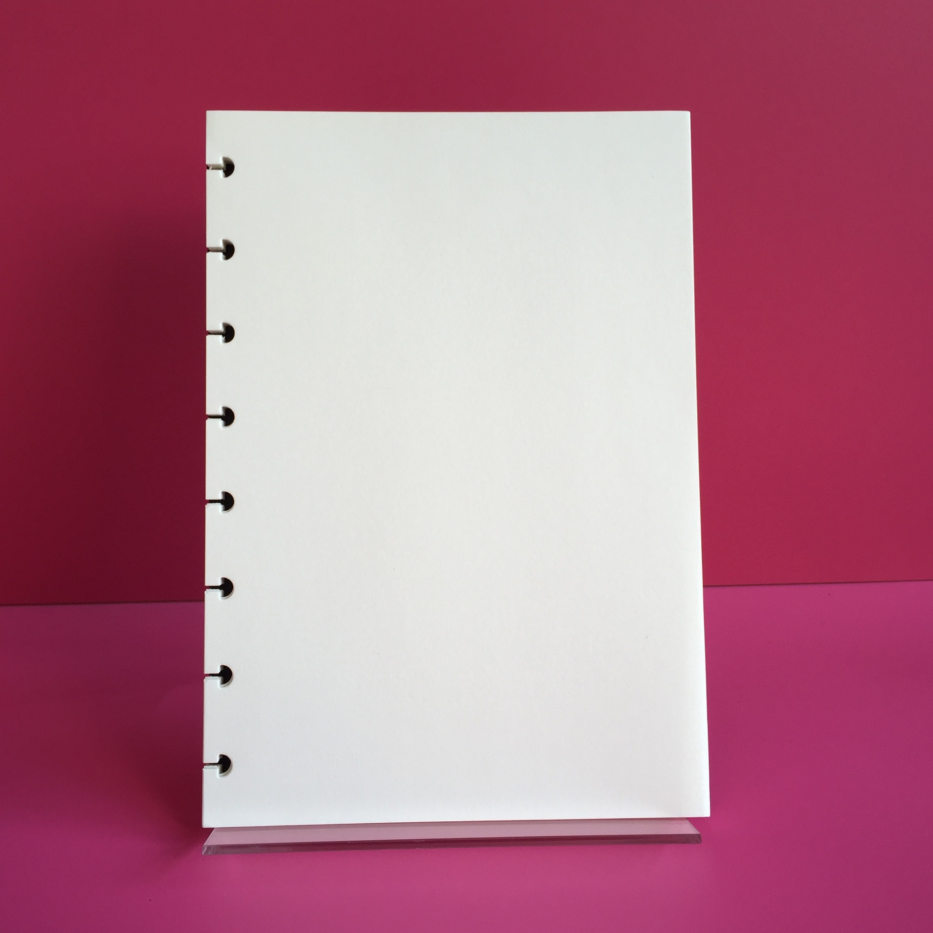 A5 Inner Page Blank/Horizontal Line/Dot Matrix/Dotted Grid Mushroom Hole Notepad Inside Page Refill Notebook Inner Refill