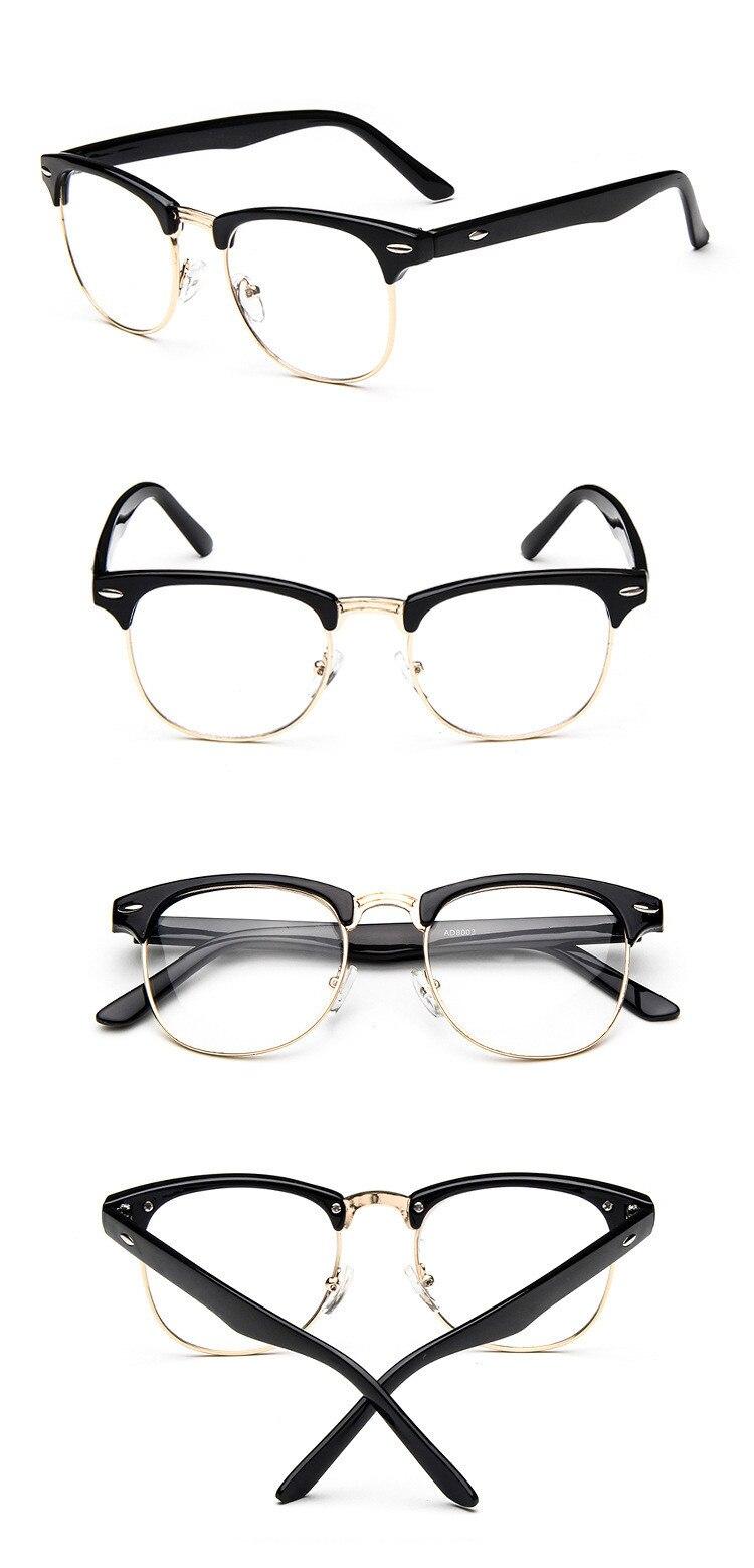 Brand Design Eyewear Frames Eyeglasses eye glasses frames for Men Male Women Eyeglasses UV Sports Computer Plain spectacle frame (15)
