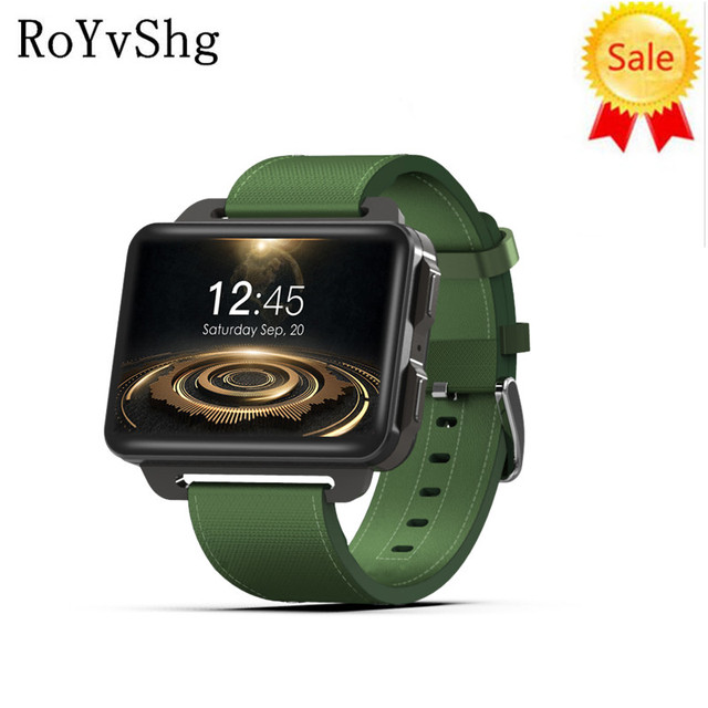 3abbb60c7c5a DM99 Smart watch PK X5 AIR 2.2inch IPS 320 240 screen Smart Watch 3G  Calling 1.3MP Camera Pedometer Heart Rate for IOS Android