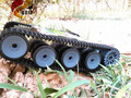 Официальный DOIT Цистерны Шасси Гусеничный Интеллектуальный Diy Робот Электронные Игрушки, Development Kit Трактор Игрушка