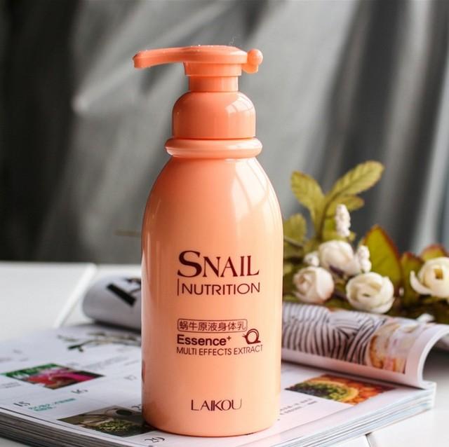 Snail Moisturizing Hydrating Body Lotion Cream