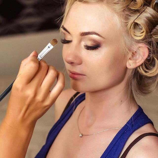 1/3Pcs Makeup Brush Cosmetic Brushes Kabuki Face Nose Brushes Concealer Foundation Eyebrow Eyeliner Blush Powder Makeup Tool 5