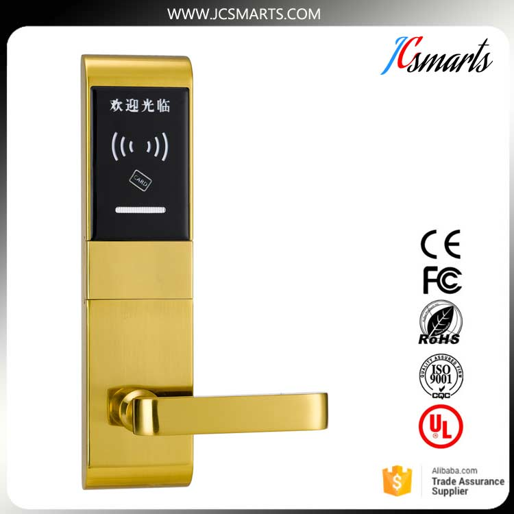 Hotel safe lock. RFID hotel lock , hotel management system door lock digital electric best rfid hotel electronic door lock for flat apartment