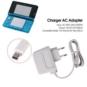 EU Charger AC Adapter for Nintendo for new 3DS XL LL for DSi DSi XL 2DS 3DS 3DS XL