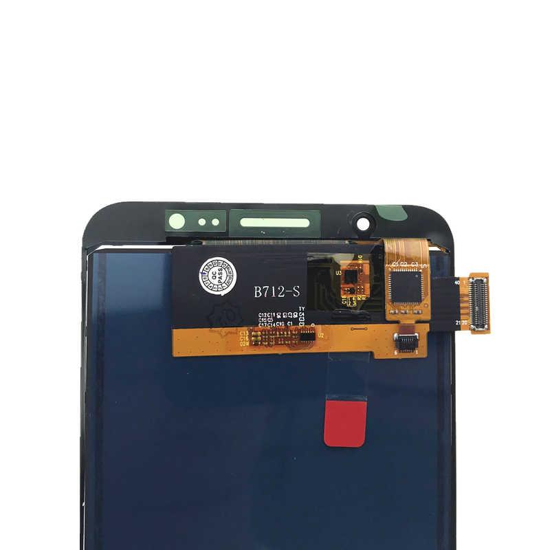 """5.5 """"ปรับความสว่าง LCD สำหรับ Samsung Galaxy J7 2016 J710 J710H J710FN/DS J710F J710M จอแสดงผล LCD touch Screen Digitizer"""