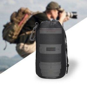 Image 5 - Capsaver 4 adet/grup yüksek kaliteli neopren kamera Lens çantası seti kalın koruyucu yumuşak torbalar çantası çantası Canon Nikon Sony için