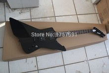 Hot Selling ESP Explore signature series SNAKEBYTE James Hetfield black Electric Guitar with 9V Active pickups(China)