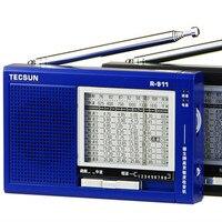 Tecsun r-911 am/fm/sm (11 bandes) multi bandes radio récepteur de radiodiffusion avec haut-parleur intégré r911 tecsun radio livraison gratuite