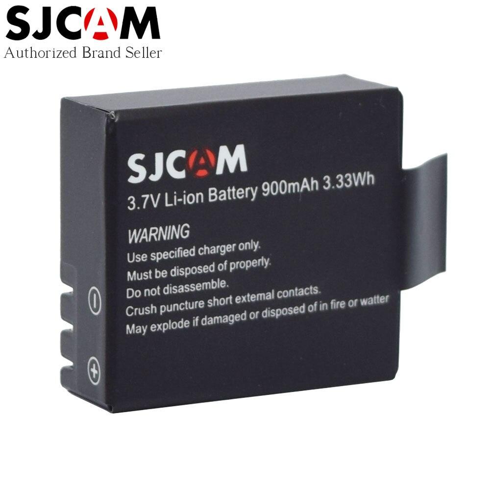 Original SJCAM Accessories 3 7V 900mAh Rechargeable Li ion Battery for SJ4000 SJ5000 Wifi SJ M10