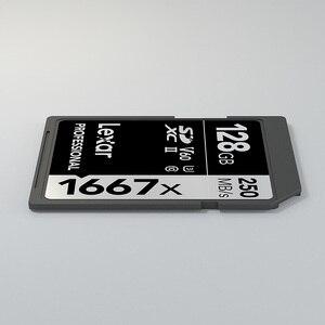 Image 5 - Nuovo Lexar Scheda di memoria Flash card sd cartao de memoria 128gb U3 SDXC UHS II 250 MB/s per Digital SLR/ HD 1080p 3D 4K video schede Della Macchina Fotografica