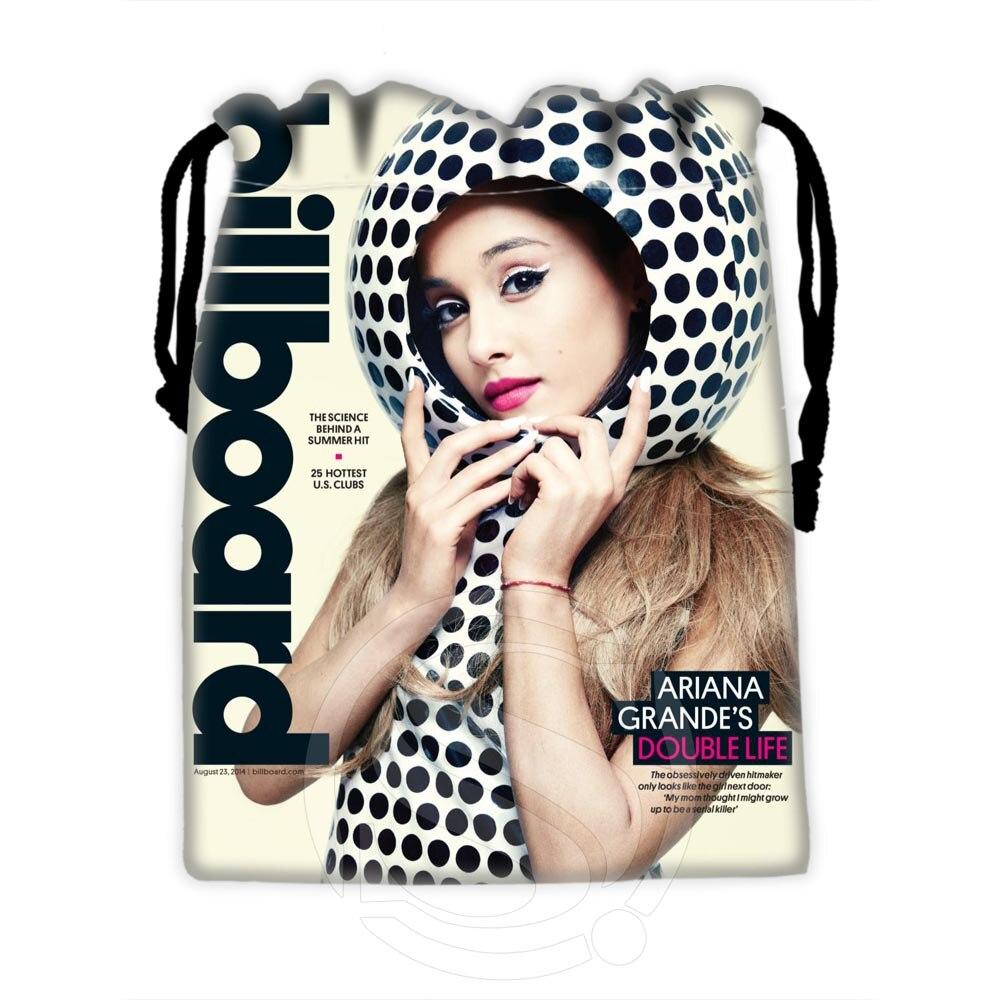 H P607 Custom Ariana Grande 4 drawstring bags for mobile phone tablet PC packaging Gift Bags18X22cm