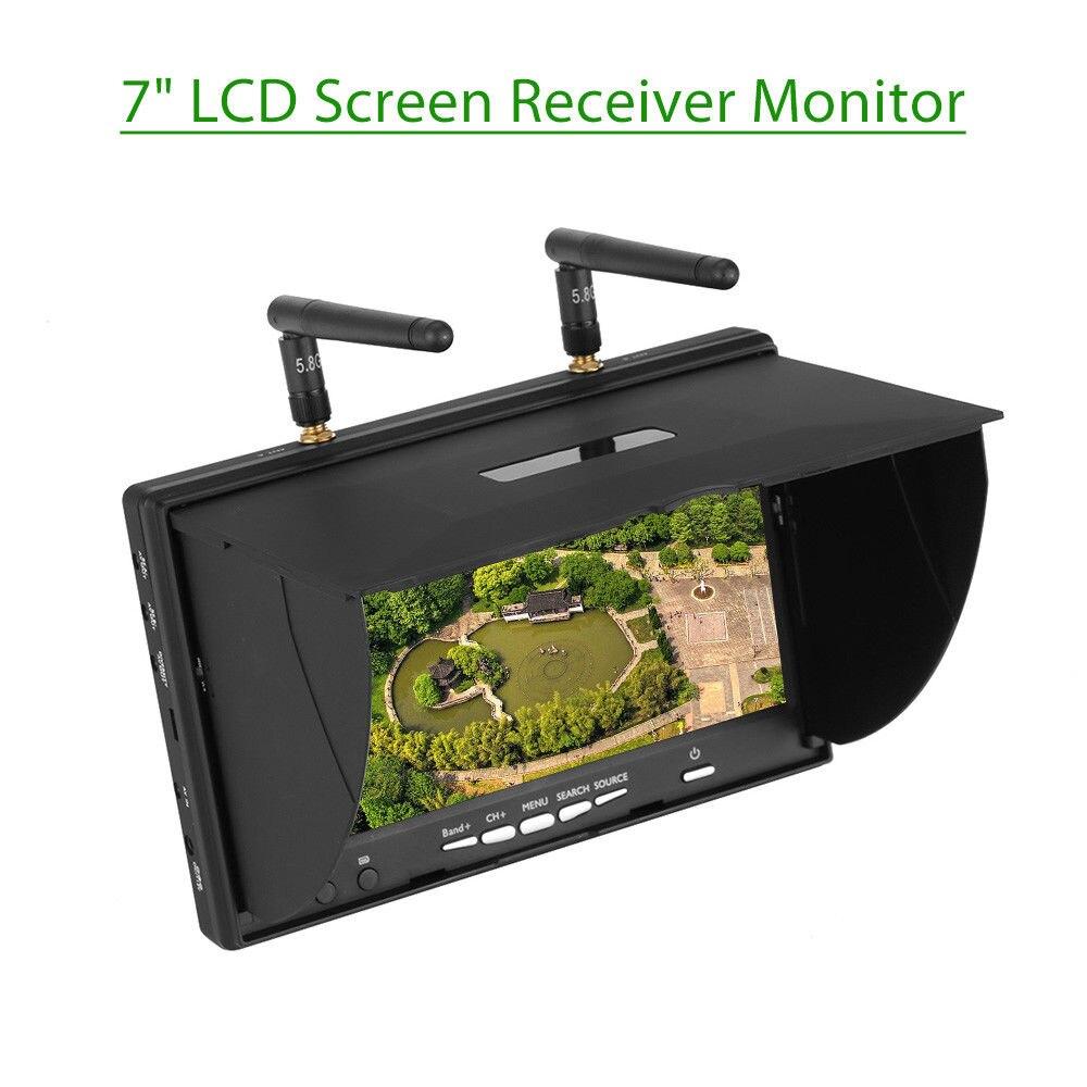 TOMLOV LCD5802S 5.8 Ghz 40CH 7
