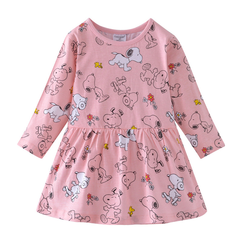 Girls Dress with Animal…