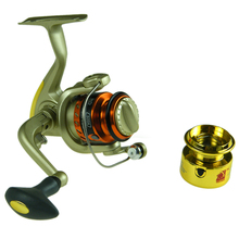 Spinning Reel 5 BB Front Drag Fishing reels coils carretilha RD500A-RD6000A Aluminum Alloy Spool Freshwater Sea Fishing windlass