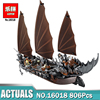 New Lepin 16018 Genuine The Lord Of Rings Series The Ghost Pirate Ship Set Building Block