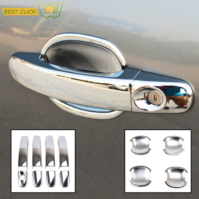 fit for 2005 2006 2007 2008 2009 2010 2011 ford focus 2 mk2 chrome