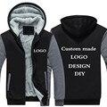 Envío de la gota tamaño de EE. UU. los hombres sudaderas con capucha sudaderas personalizado logotipo personalizado impreso diseño de bricolaje de los hombres de abrigos y chaquetas