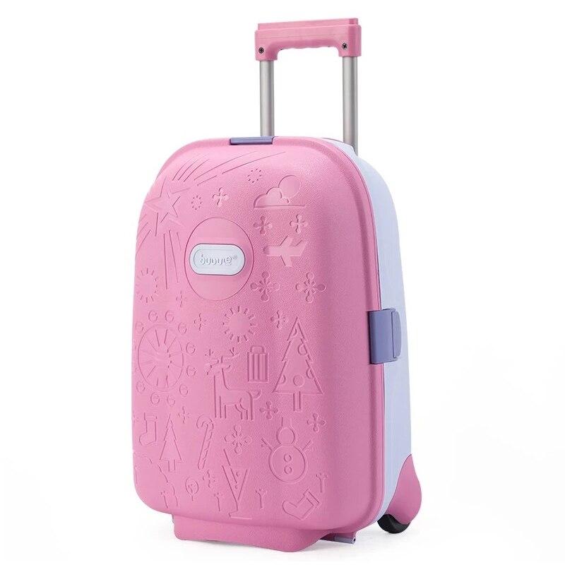 2019 Neue Anime Kinder Reise Trolley Taschen Koffer Kinder Nette Roll Gepäck Trolley Mädchen & Jungen Koffer Schule Tasche Auf Rädern
