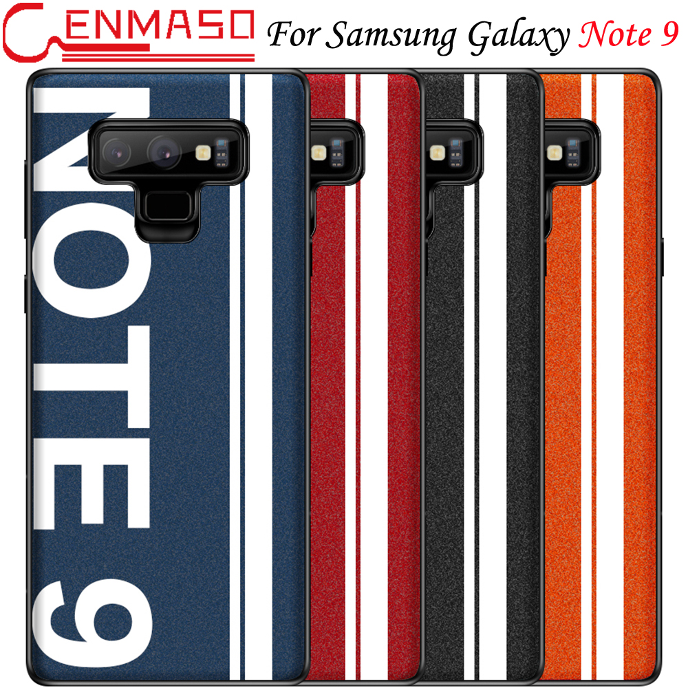 For Samsung Galaxy Note 9 Case Cover Ultra Slim Hip Hop Graffiti Freestyle Offical Cenmaso Note9 Back Cover Fashion Phone Case|Fitted Cases| |  - title=