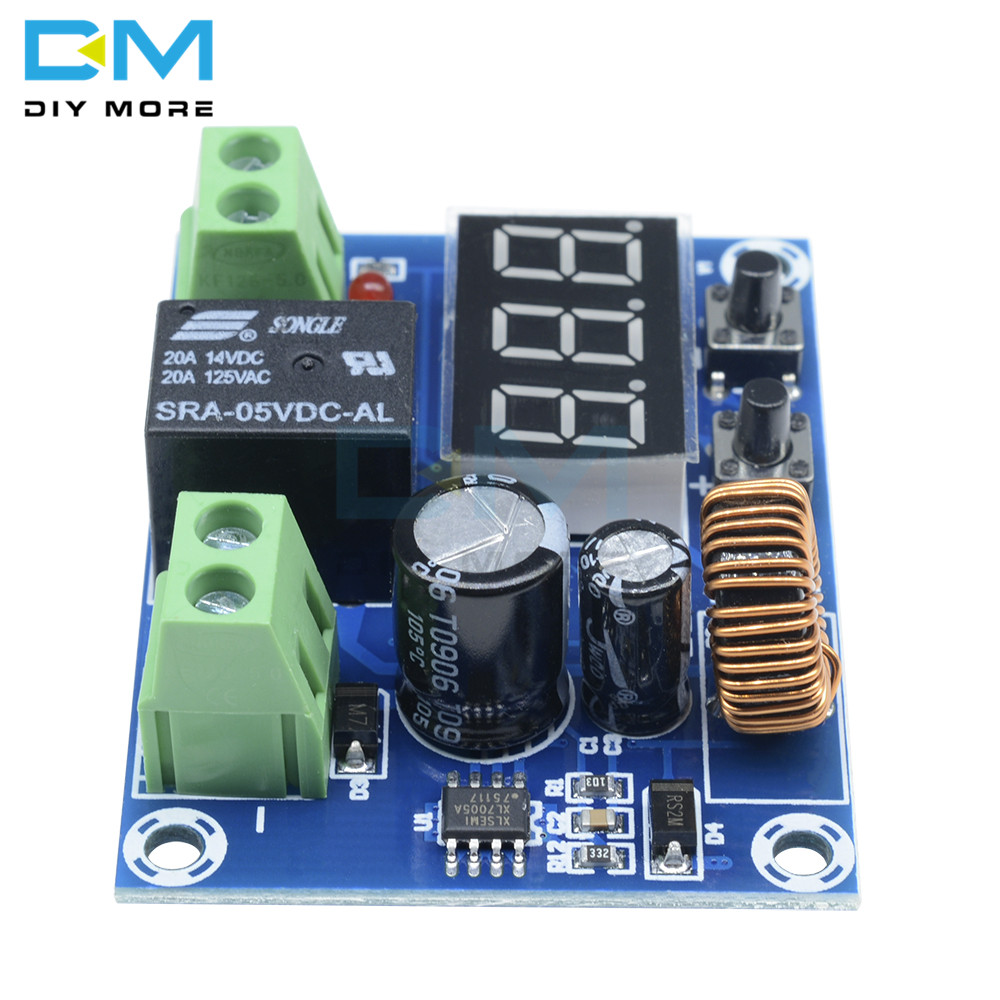Image 3 - XH M609 DC 12V 36V Charger Module Voltage OverDischarge Battery Protection Precise Undervoltage Protection Module  Board-in Integrated Circuits from Electronic Components & Supplies