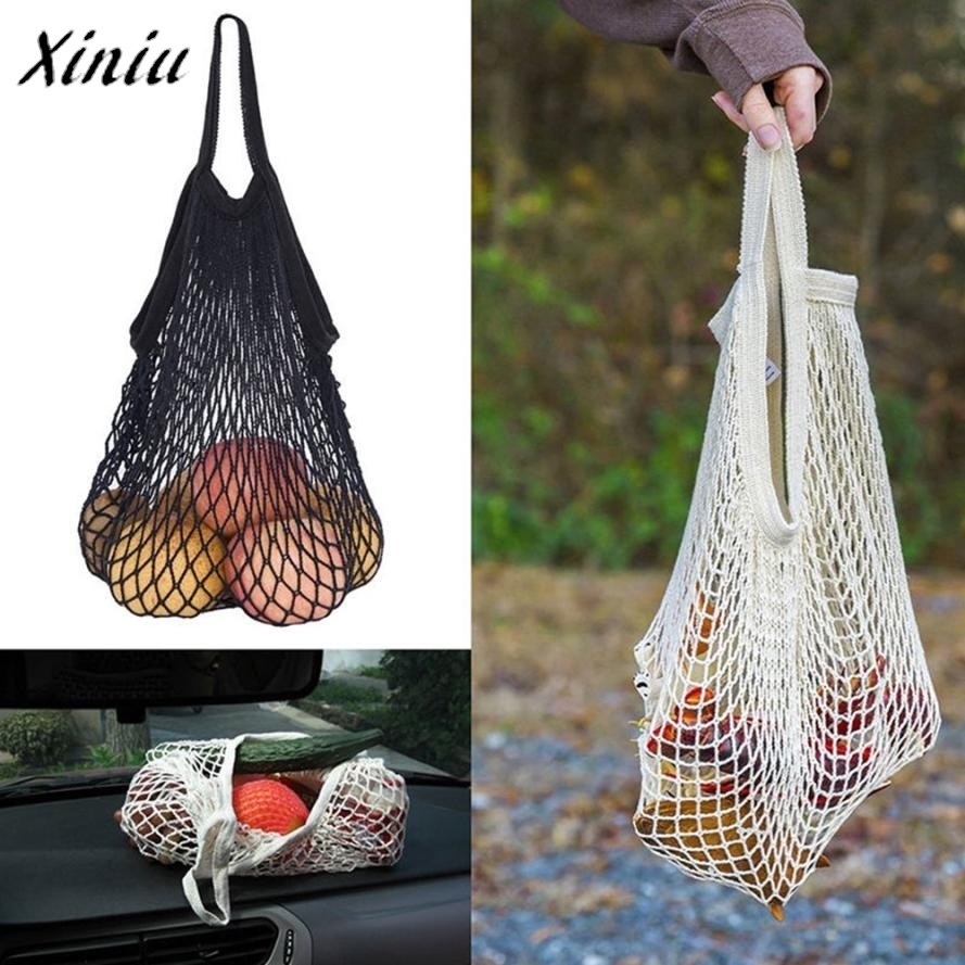 Mesh Net Turtle Bag String Shopping Bag Reusable Fruit Storage Handbag Totes Convenient shopping mesh bag for fruit packaging folding reusable shopping bag portable eco multi function pouch travel durable home storage handbag accessories supplies product
