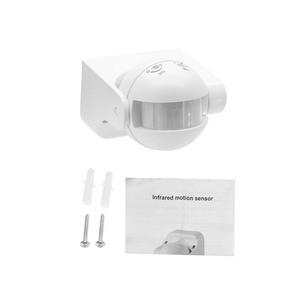 Image 5 - Detector de movimento infravermelho do interruptor do sensor de pir da segurança exterior max 12m 3 2000lux interruptor de iluminação automático de poupança de energia