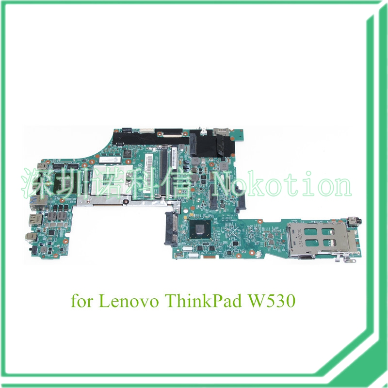 NOKOTION   48.4QE13.031 FRU 04X1151 For lenovo thinkpad W530 laptop motherboard nvidia N14P-Q1-A2 graphics QM77 DDR3 7xinbox 15 2v 50wh laptop battery for lenovo asm p n sb10f46441 fru p n oohw003 4icp5 58 73 2
