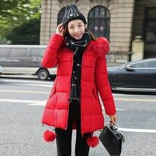 winter jacket women manteau femme 2016 coat parka coats womens jackets and fur jaqueta feminina down Korea parkas for casaco new