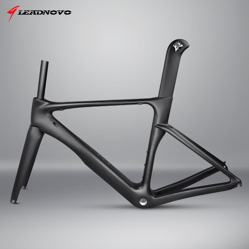 Customized 2019 newly carbon road frame carbon fibre racing bicycle frame UD glossy matte BB68 BB30
