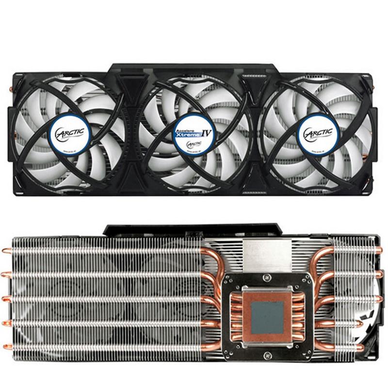 Radiator VGA Cooler Fan Radiateur For AMD Radeon R9 290(X