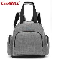 Fashion High Quality Baby Diaper Bag Backpack Waterproof Extensible Baby Tote Bag Unisex Stroller Bag Diaper Handbag For Mom