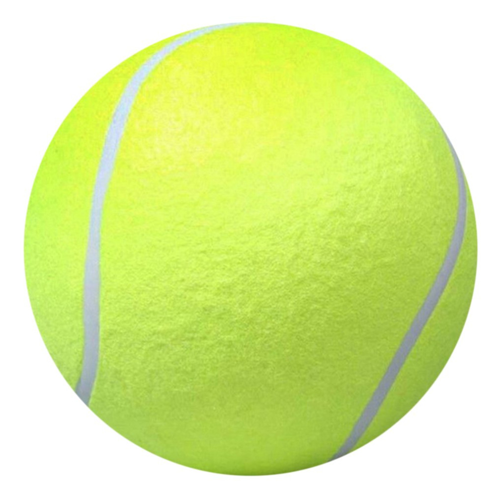 24cm Dog Tennis Ball Giant Pet Toy Tennis Ball Dog Chew Toy Signature Mega Jumbo Kids Toy Ball For Pet Dog 39 s Supplies in Tennis Balls from Sports amp Entertainment