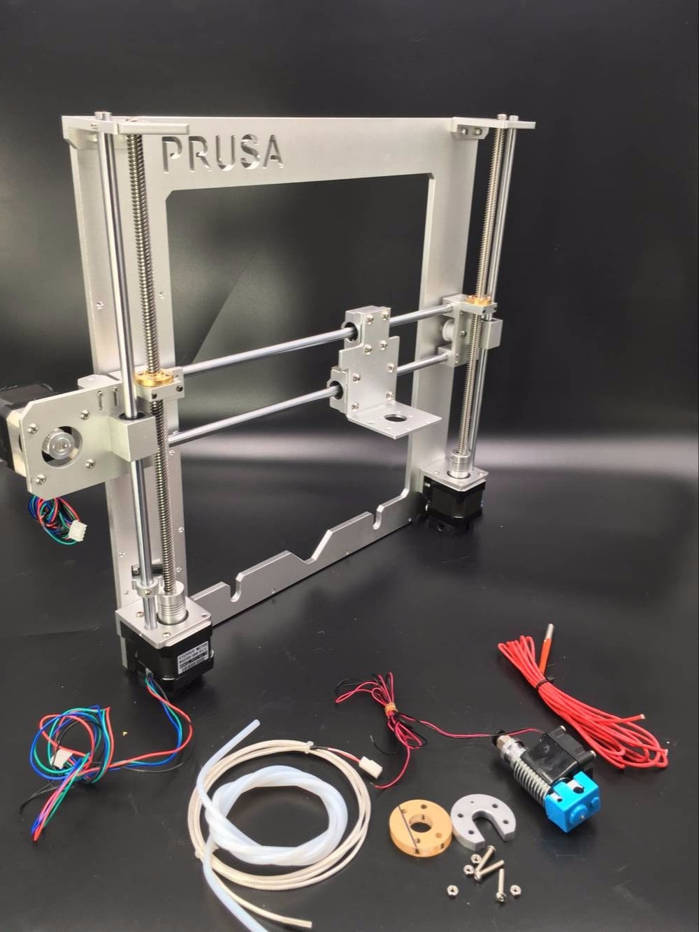 цена на SWMAKER Update Prusa i3 frame kit silver color With V6 PT100 / 104GT2 thermistor hotend kit aluminum alloy Anodized free ship
