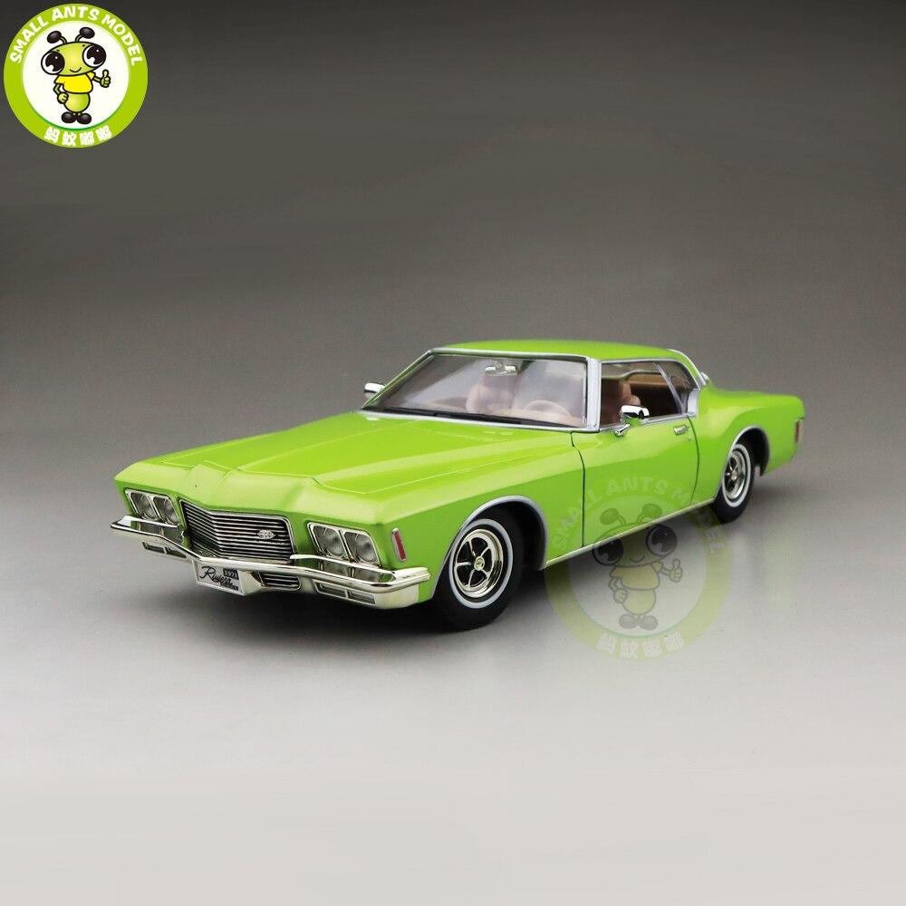 1/18 1971 RIVIERA GS Road Signature Diecast Model Car Toys Boys Girls Gift