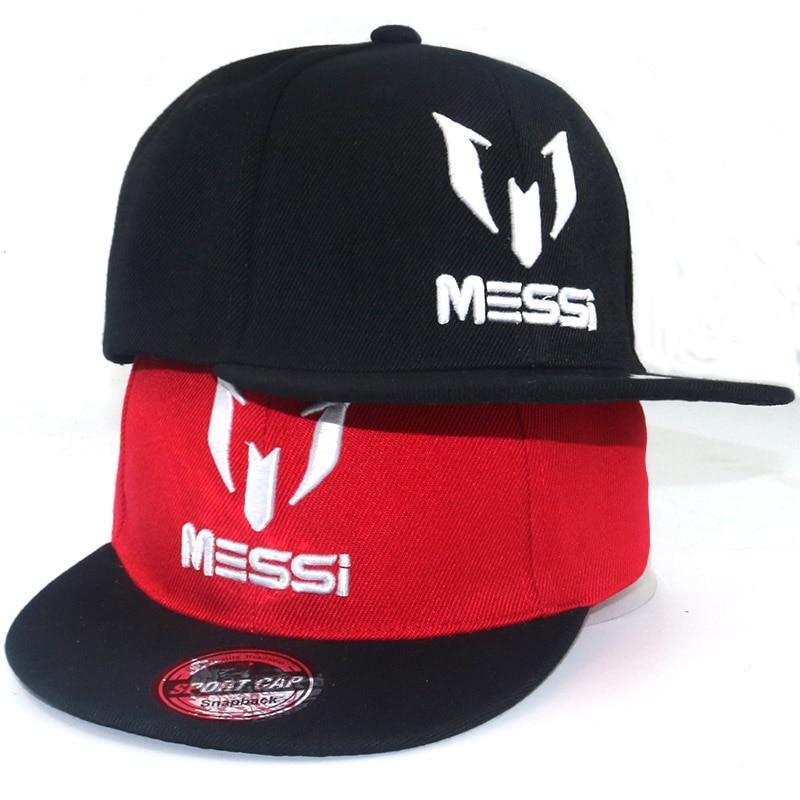 High Quality Football cap MESSI Baseball Caps Boys Girls Kids Children hat Adjust Soccer Messi Snapback Hip Hop Hat