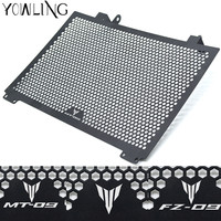 Motorcycle Accessories Radiator Guard Protector Grille Grill Cover For YAMAHA MT09 MT 09 FZ09 FZ 09