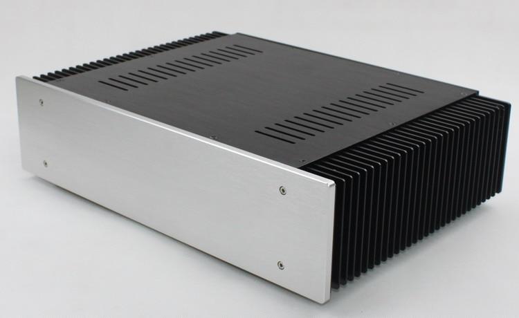 WA61 Full Aluminum Amplifier Chassis / Class A Amplifier / AMP case / DIY Box (432 * 110 * 312mm) цена