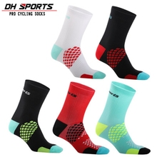 DH SPORTS Top Brand Cycling Socks Men Women Outdoor Running Footwear Bicycle Riding Bike Compression Breathable Road