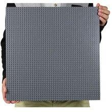 50*50 النقاط الصغيرة الطوب DIY بناء كتل كبيرة قاعدة لوحة 40*40 سنتيمتر صغيرة الطوب اللوح الأساس ألعاب البناء للأطفال اللوح الأساس