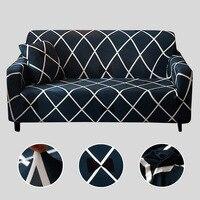 Capa de sofá capa de sofá elástica para sala de estar sofá estiramento capa de assento slipcovers para poltronas sofá conjunto capa 1 pc