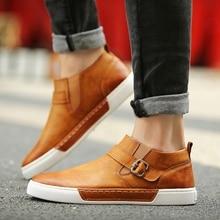 Tidog Han edition tide men casual shoes joker current shoe covers a foot pedal men's shoes