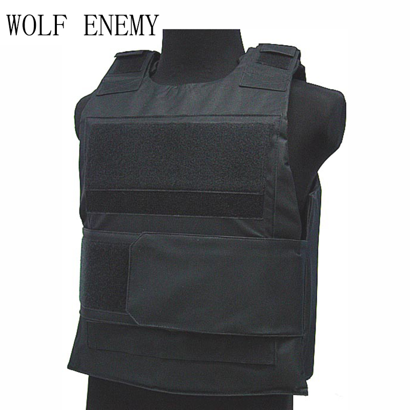 WOLF ENEMY Sports Vest Down Body Armor Plate Tactical Carrier Vest CB Camo Woodland Best Price Hunting Vest