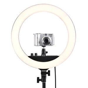 Image 5 - Fusitu RL 12II ha condotto la luce dellanello con la fotografia 3200 5600K Ringlight con la lampada della luce del supporto del treppiede per il trucco di Youtube della foto del telefono