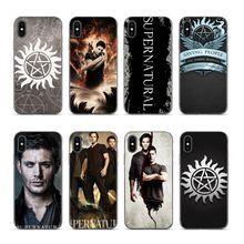 Aiboduo TV Show Supernatural Logo design For iphone 6s 7 Phone case cover for iPhone 5s 5 8 6 6SPlus X XS XR XSmax 7plus 8plus