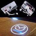 2x Levou Porta Do Carro Logotipo Projetor Laser Luzes Para Mazda 6 atenza 2014 2015 2016
