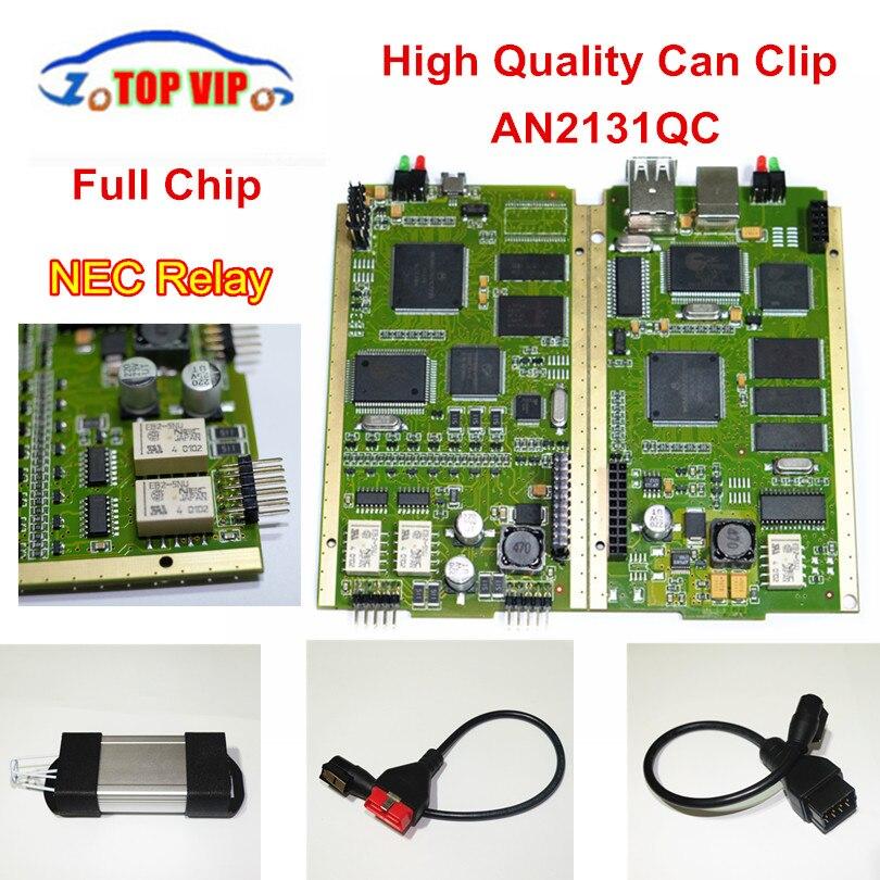 DHL Бесплатная Новые V168 может закрепить золото печатной платы Cypress AN2131QC Авто диагностический инструмент OBD2 сканер с полной чип для re-na-lut