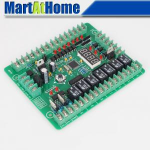 New PLC Programmable Logic Controller Module PWM Stepper Motor Driver Relay Board #SM536 @SD new original programmable logic controller module 1794 tb3g plc cage clamp terminal base